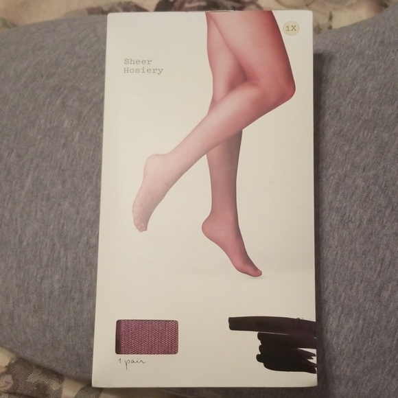 A New Day Women's Sheer Hosiery Tights 1X